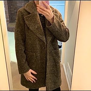 🤩NEW w/tags⭐️H&M Moroccan made wool blend coat❤️New listing! $120 value!
